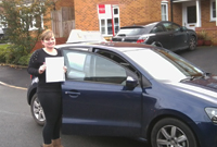 Lauren had driving lessons with a female driving instructor in Dukinfield, Tameside.