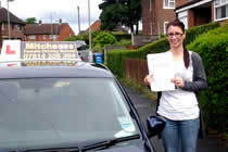Lianne had driving lessons with mitchells female driving school in Ashton-Under-Lyne, Tameside.
