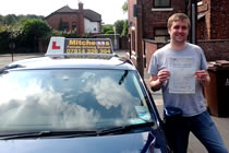 Mark had driving lessons with mitchells female driving school in Dukinfield, Tameside.