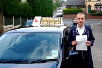 Matthew had driving lessons with mitchells female driving school in Ashton-Under-Lyne, Tameside.
