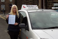 Gregor Passed his driving test after taking Driving Lessons in oldham with pauline