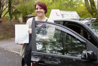 Rachael Passed her driving test after taking Female Driving Lessons in Reddish Stockport with pauline, Female Driving Instructor