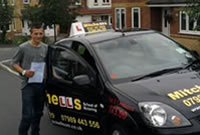 Jake Passed his driving test after taking Driving Lessons in tameside with Pauline.