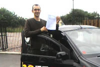 Kenny Passed his driving test after taking Driving Lessons in Ashton, tameside with Pauline.
