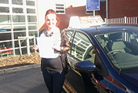 Natasha Passed her driving test after taking Driving Lessons in Royton, oldham with pauline