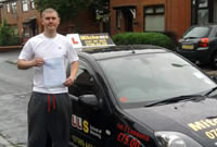 Richard Passed his driving test after taking Driving Lessons in oldham with pauline